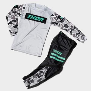 2021 rapidamente ar pulso Verão Motocross Jersey E Calças Gear Set respirável MX Gear Set Top ATV FLEXAIR roupas moto