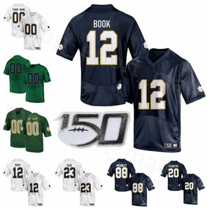 NCAA Notre Dame Fighting Irish College Football 12 Ian libro Jersey 23 Kyren Williams 25 Chris Tyree 20 CBo Flemister 88 Javon McKinley