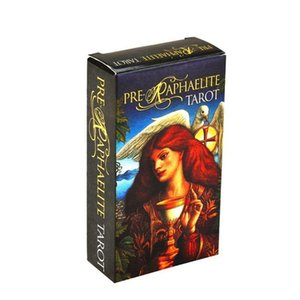 Full English Pre Raphaelite Tarot 78 Carte Deck Family Party gioco da tavolo Toy Card Full English bbyhfk alice_bag