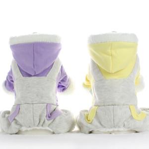 Inverno cotone cane pigiama tuta tuta abiti da cane pigiama piccolo costume costume abbigliamento pet pigiama perro prodotti per animali domestici a quattro zampe