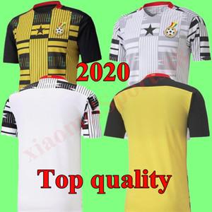 20 21 Ghana Thomas National Team Jerseys Soccer Jerseys 2020 2021 Schlupp Kudus J.Ayew Caleb Ekuban Samuel Owusu Casa Away Camicia da calcio giallo