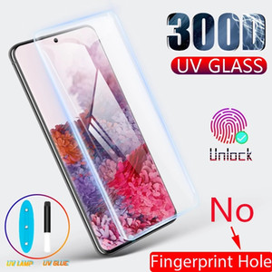 UV Tempered Glass For Samsung Galaxy S20 Plus Note 20 Ultra S9 S8 Screen Protector S10 Plus S10E S 9 8 10 E 5G Note 9 s10 lite With Package
