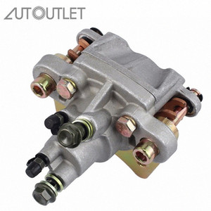 AUTOUTLET New Car Accessories Rear Car Wheel Rear Brake Caliper With Pads Metal For Polaris Sportsman 400 450 500 600 700 800 jF1s#
