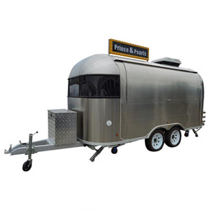 Custom Food Truck Concession Food Trailer