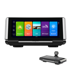 7 inch Full screen IPS Touch universal Dashboard 4G Car DVR Dash Cam Rear View Reversing backup smart Android 8.1