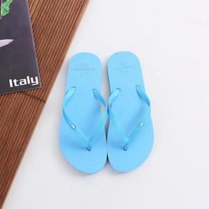 Men Women Flip Flops Slippers Striped Non-slip Wear-resistant Indoor Outdoor Home Flip Flops Summer Beach Slippers1