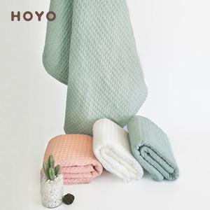 لطيف الهراء مناشف حمام التفاف لينة القطن ماص الشعر الكبار الطفل الشاش منشفة كبيرة جميلة حمام فتاة الأخضر الياباني منشفة 6MM89