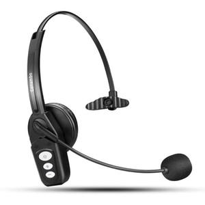 Wantek conambo Bluetooth гарнитура V5.0, Pro Wireless Headset High Voice Clarity с функцией подавления шума микрофона для сотового телефона-JBT800 Pro