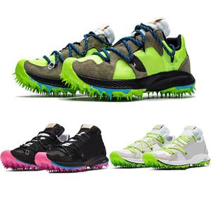 Zoom Terra Kiger 5 camoscio peluche tomaia atletica uomini donne Atleta in Progress scarpe da corsa Punte di plastica chiodo suola Sport Sneakers