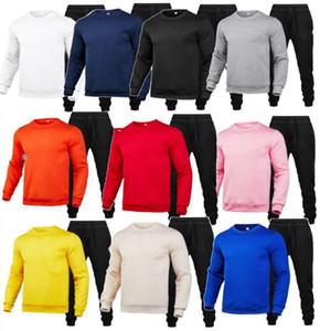 Plus Größe 3x Männer Fall Winter Jogger Anzug Dicke Fleece-Trainingsanzüge Outfits Casual Pullover Hoodies Hosen Zwei Teile Set 4019