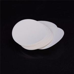 100 unids / bolsa 9cm Filtro redondo Papel de filtro cualitativo Papel de filtro de velocidad de velocidad Medio Filtro de papel Laboratorio de papel BBYQWS