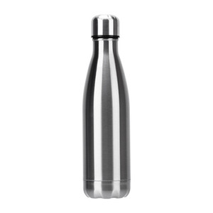 Newest 350ml   500ml Vacuum Cup Coke Mug Stainless Steel Bottles Insulation Cup Thermoses Fashion Movement Veined Water Bottles 105 J2