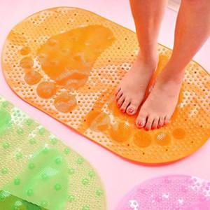 욕조 샤워 반투명 미끄럼 PVC 욕조 매트 욕실 용 매트의 슬라이드 증명 지상 층 욕실 러그 욕실 발 패드 문 매트