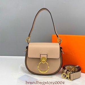 2021 Новая мода седловая сумка чистая кожаная звезда с одинаковым роскошным ручным ремешком Cross Bag All-Match Ring Summer