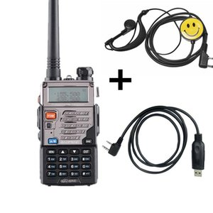Walkie Talkie Baofeng UV-5RE 10KM VHF UHF 136-174MHz 400-520MHZ 듀얼 밴드 양방향 라디오 UV-5R 시리즈 휴대용 트랜시버