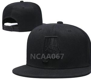 NCAA Auburn Tigers Snapback Caps chapéu Duke Alabama Crimson Devils Miami Hurricanes Cap Seminole Estado da Flórida um tamanho serve a todos um