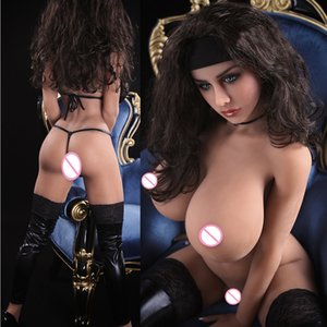160 cm Real Silicone Giapponese Dolls per gli uomini Realistic Anale Anale Vagina Big Breasts Full Love Doll Adult S