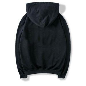 s-4xl Негабаритные Black Новая мода Мужские толстовки Мужские фуфайки Весна Осень Solid Color Hip Hop Женщины Street износ балахон Мужская одежда