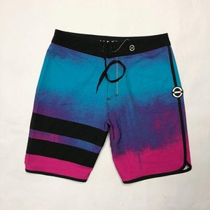Embroidered Logo Waterproof Spandex Elastane Board Shorts Mens Bermudas Shorts Beach Boardshorts Men's Beazh