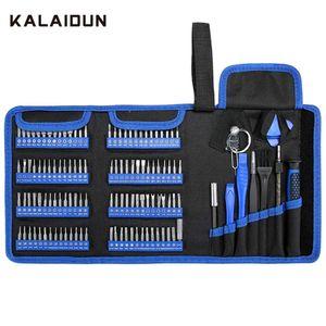 KALAIDUN Precision Screwdriver Set 126 In 1 Torx Screw Driver Bit Hex Magnetic Bits Multitools Home Phone Repair Hand Tools Kit T200602