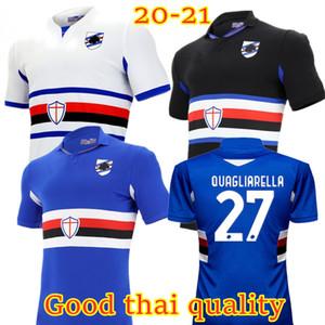 Qualidade Tailandesa Sampdoria Home Away Futebol Tops 2020 2021 Sampdoria Quagliarella Jankto Ramirez Gabbiadini Balde Candreva 3º Futebol Shir