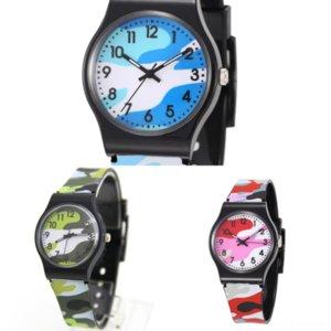 tmdlw hombres relojes automáticos movimiento camuflaje mecánico acero luminoso niños impermeable alto calidad deportes relojes f f