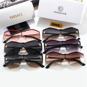 2020 Brand design Sunglasses women men Brand designer Good Quality Fashion metal Oversized sunglasses vintage female male UV400.