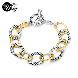 UNY Bracelet Designer Brand David Inspired Bracelets Antique Women Jewelry Cable Wire Vintage Bracelet Christmas Gifts Bracelets LJ200918
