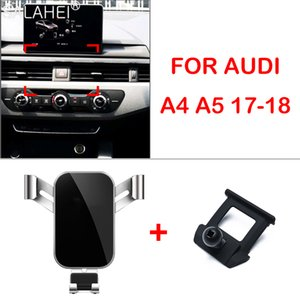 Car Mobile 2019 Adjustable Air Vent Mount Phone Holder Clip Cover For Audi A4 Accessorie