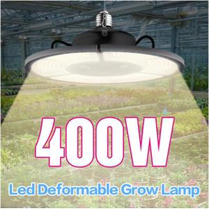 Ampul büyümek LED E27 / E26 400W Katlanır Sunlike Tam Spektrum Kapalı Bitkiler, Sebze Grow Işıklar, Sera Hidroponik Lambası Büyüyen