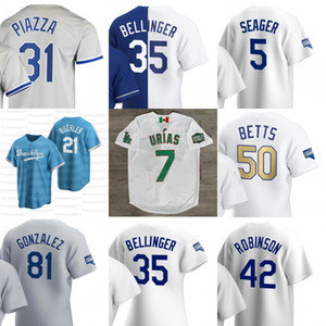2021 Los Angeles Mookie Betts Jersey Cody Bellinger Clayton Kershaw Corey Segarder Julio Urias Justin Turner David Prix Jersey