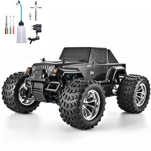 HSP RC Truck 1:10 Scale Nitro Gas Power Hobby Car Two Speed Off Road Monster Truck 94108 4wd High Speed Hobby Remote Control Car 201209