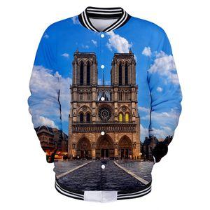 Hip Hop Notre Dame de Paris Hoodies Sweatshirts 3D Funny Fashion Autumn Long Casual Men Women Cotton Hoodies Clothes