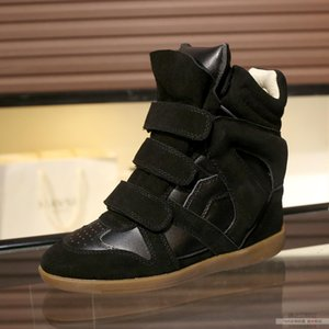 Внутри каблуки дизайнер Идеальный Париж Изабель Обувь Denzy Замша Ковбой Стиль Marant Knee-High-High Westernsired Showing Calf Кожаные сапоги
