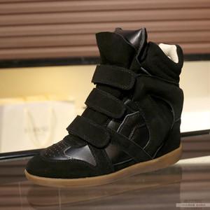 Inside Heels Designer Perfect Paris Isabel Schuhe Denzy Wildleder Cowboy Marant Style Knie-High Western-inspirierte Nähte Calf Lederstiefel