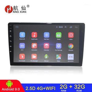 Audio de automóvil Android 9.1 Radio Press Full Mirror Link Player Estéreo Multimedia MP5 Bluetooth USB 4G WiFi 2G, 32G ROM1