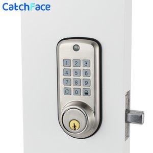 الباب الرقمية الالكترونية قفل لوحة المفاتيح الذكية لوكر قفل، ذكي كود رخيصة الباب الآمن قفل الأمان العالي مع واحدة Deadbolt و