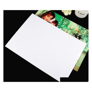 Blank Sublimation A4 Jigsaw Puzzle With 120 Pieces Diy Heat Press Transfer Crafts Puzzle Of sqcEDU dh_seller2010
