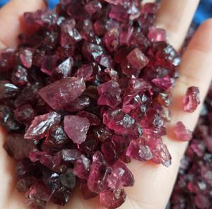 Natural Garnet Stone Quartz Crystal Tumbled Stone Crystal Healing Stone Irregular (size: 5--15 Mm, Colo bbyDKo soif