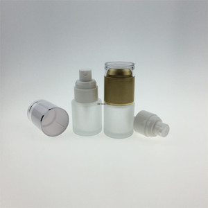 300pcs lot 20ml Frosted Glass Bottle With Acrylic Lid.Lotion Essetial Oil Moisturizer Facial Water Cosmetic Container