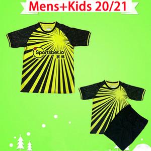 Watford F.C. jersey 2020 2021 Fußballjerseys-gelbes Kelme Deeney SUCCESS-Fußball-Hemd MASINA Doucouré Deulofeu GRAY siamesische Qualität