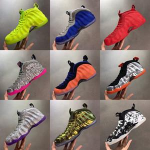 Penny Hardaway Papan One Pro Яркие Малиновые Вольт Мужские Баскетбольные Обувь Fuchsia Серый Розовый Цемент Спрей Вандализованные Спортивные кроссовки