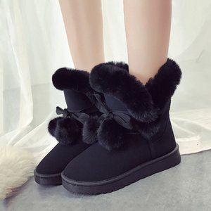 Top quality warm snow ankle for female shoes winter women boots botas mujer invierno 2020