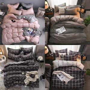 Couchons de lit concepteur Ensembles Literie Set 100% Polyester Fibre Ménage Bref de la plante Couvercle de couette Ensembles de couverture confortable 129 g2