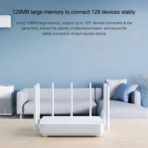 Original Xiaomi Mi AiT AC2350 Gigabit Router 2183Mbps 128MB Dual-Band WiFi Roteador Sem Fio com 7 Altas Antenas Ganho mais