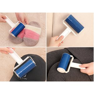 Dust Catcher Remover Dust Sticky Roller Portable Sticky Washable Lint Rollers Sofa Sheets Pet Hair Clothes Collector Cleaner GWF4133