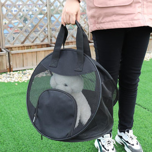 Foldable Dog Carrier Portable Mesh Pet Puppy Travel Bag Outdoor Backpack Small Dog Cat Chihuahua Carrier Handbag Pet sqcFaO