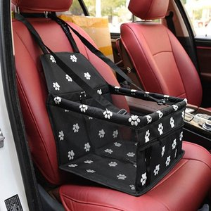 Car Interior Oxford Waterproof Pet Dog Carrier Pad Safe Carry House Folding Cat Puppy Bag Dog Car Seat Seat Bag Basket