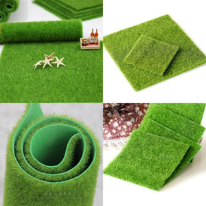 1 Pcs 30CM 15CM Artificial Grass Fake Lawn Simulation Miniature Garden Ornament Dollhouse New