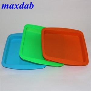 "Food Grade силиконовых пластин Квадратного Силикон Deep Dish Контейнер Лоток Aprox 8 ""x8"" Bho Wax Контейнеры"